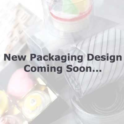 Clear plastic packaging new design
